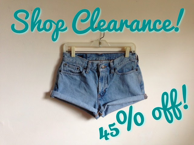 Etsy Vintage Shop Clearance Sale • 45% Off!