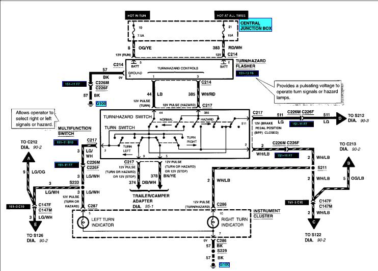 2001 Ford Ranger Fuel Pump Wiring Diagram