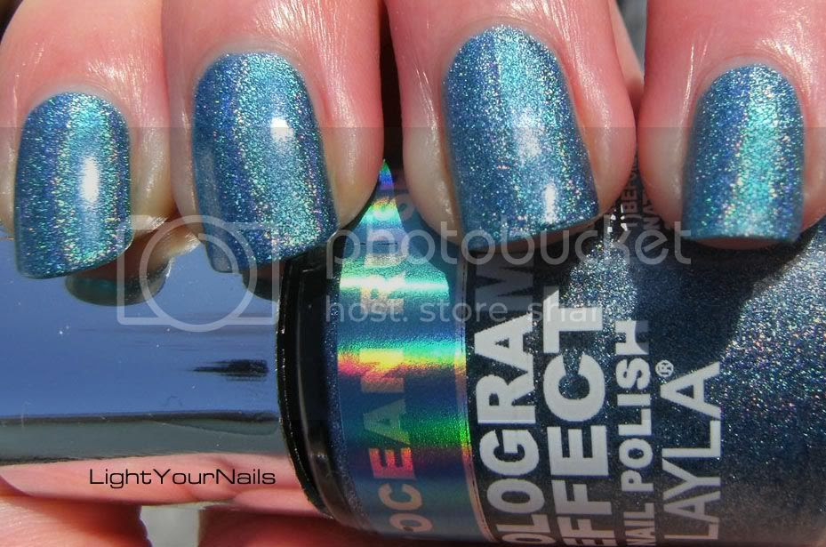 Layla hologram effect Ocean Rush 7
