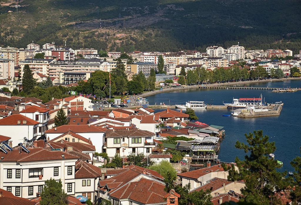 Ohrid Landmarks Walk Ohrid Macedonia