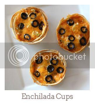 """""""Enchilada Cups"""""""