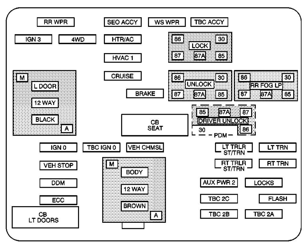 2009 Vw Jettum Fuse Box Diagram