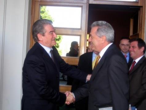 """Μετά την ελληνική οργή ο Μπερίσα τα """"μαζεύει"""" για το ότι η Αλβανία εκτείνεται ως την Πρέβεζα"""