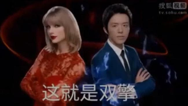 Taylor Swift has decided to make some extra cash by appearing in Chinese TV commercials.