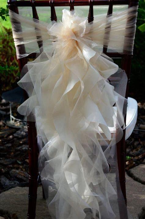 Wedding Decorations Using Tulle
