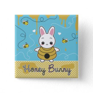 Honey Bunny button