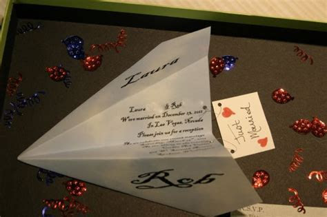 Paper Airplane Invites   Weddingbee Photo Gallery