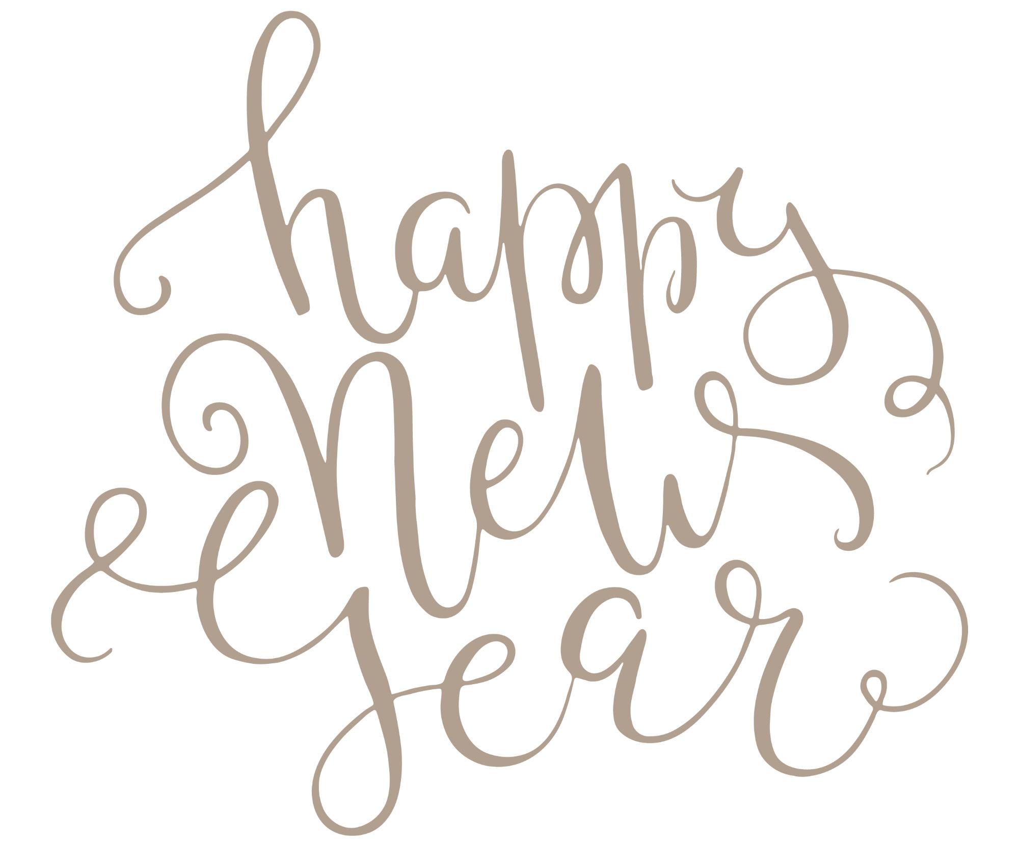 Happy New Year | angiethefreckledrose.com