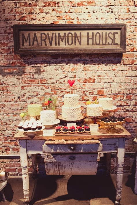 vintage wedding dessert table simply tale