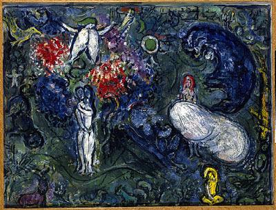 paradiso Chagall