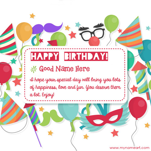 Sweet Birthday Wishes Quotes With Name