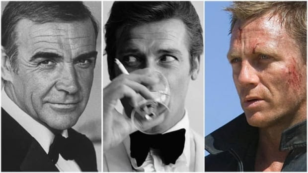 British secret service agent 007, also known as James Bond, through the years. (AP, Getty Images)