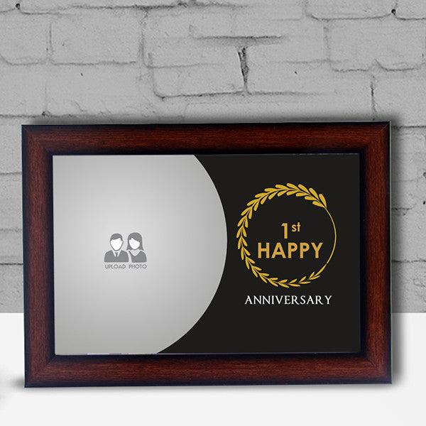 1st Anniversary Frame Photoexpressin