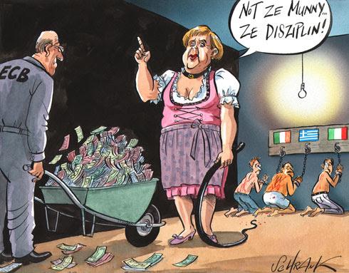 Frau austeridad
