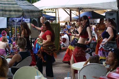 Belly Dancers, Nightcliff Market