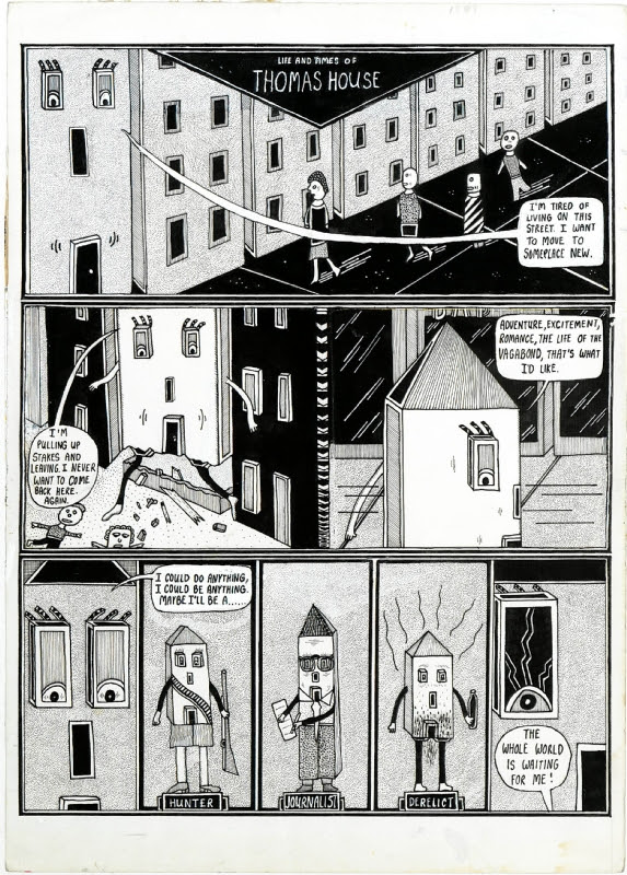 Life & Times of Thomas House, pg. 1 Comic Art