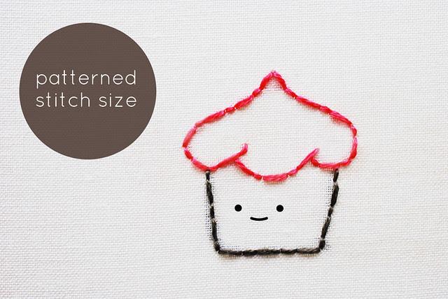 Ideas on Stitch Size