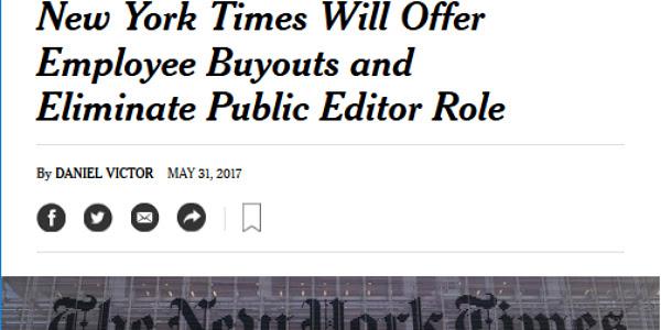 New York Times Public Editor