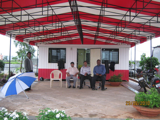 Site office of Elite Homes