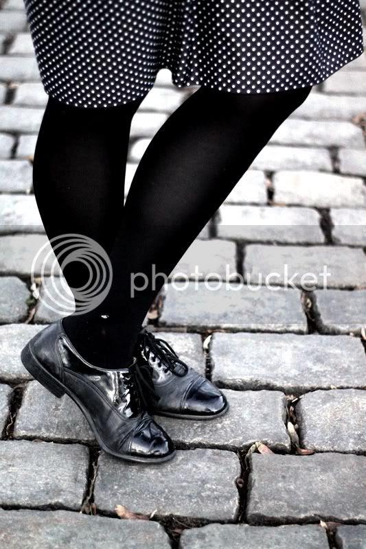 schwarze vintage lack leder budapester schnürschuhe