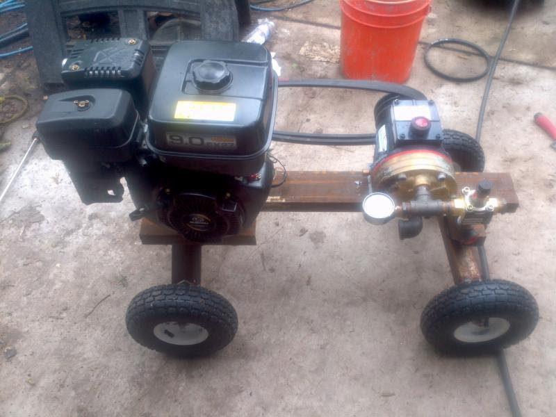 Pressure Washer Build Your Own