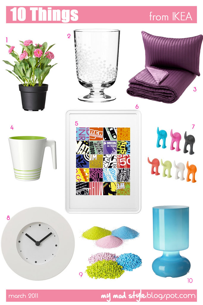10 things from IKEA - March 2011