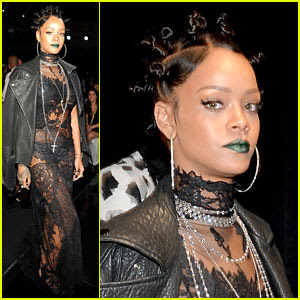 Rihanna Channels OITNB's Crazy Eyes at iHeartRadio Music Awards 2014!