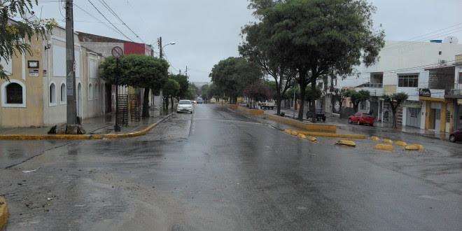 Chuvas, relâmpagos e trovões no Pajeú