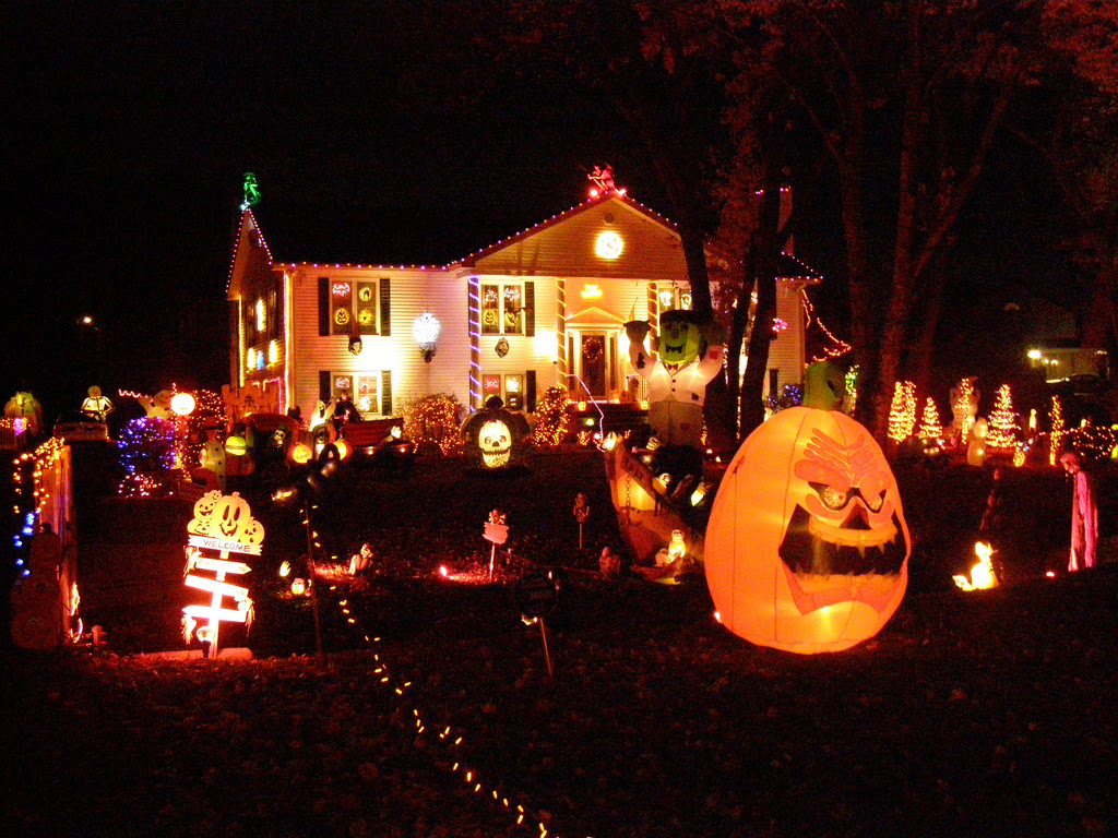 Creative Halloween Decorations Lights For Night