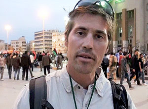 O jornalista americano James Foley