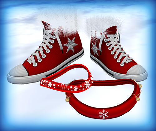 Christmas Sneakers Collars