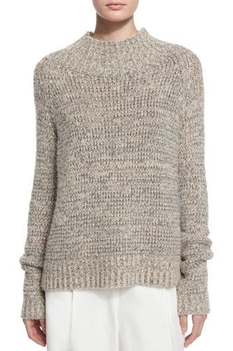 The Row Hetty Funnel Neck Sweater