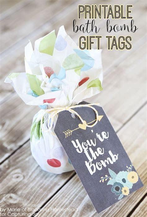 Printable Bath Bomb Gift Tags   Homesteads, Free printable