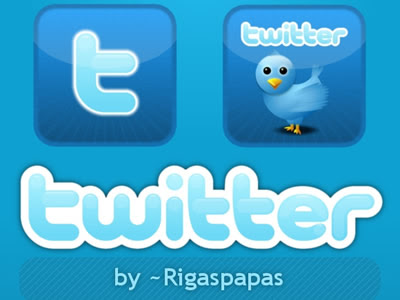 Twitter buttons by RigasPapas