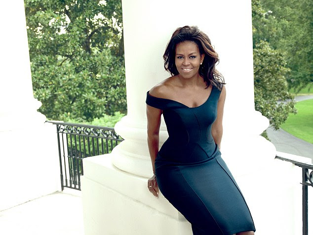 Ready to go: The First Lady said she believes eight years in the White House is enough time because it is important for the country's leaders to have 'one foot in reality'