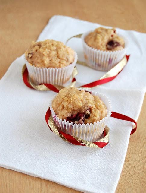 Christmas muffins / Muffins de Natal