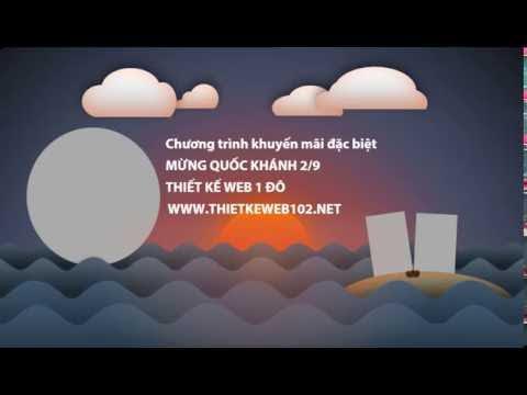 Thiết kế web 1 đô nhân dịp Quốc Khánh