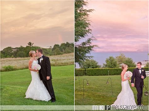 Meghan & Brad: Dell Lea Rustic Sunset Wedding   Melissa