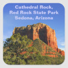 Cathedral Rock, Arizona Sticker