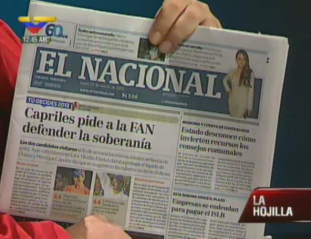 ¿FAN? ¿Y Bolivariana dónde la dejan? ¿Pretenden otra vez 'bajar' a Bolívar? ¡Ojo Pelao!
