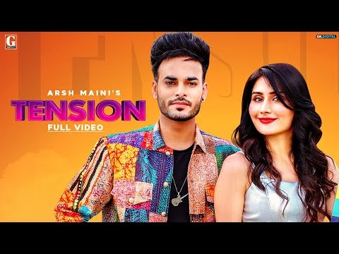 Tension Arsh Maini, Afsana Khan Mp3 Song Lyrics 2020