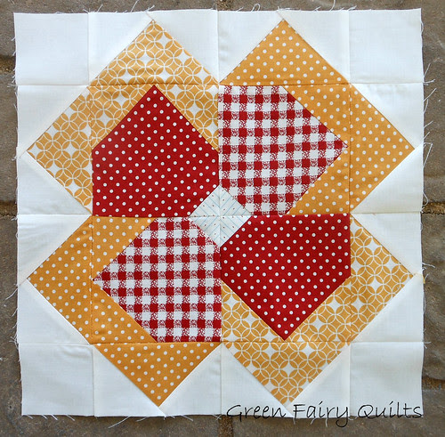 Flower Patch Quilt Along 4