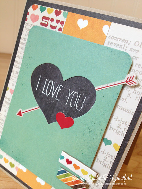 i love you cu Simple Stories by Kimberly Crawford