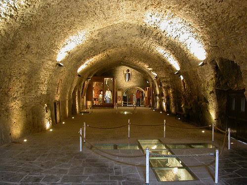 13C Godefroy de Bouillon Chamber, Château Fort, Bouillon, Belgium