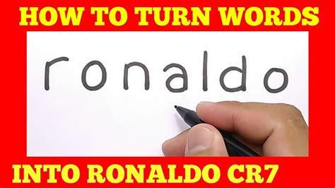 amazing  menggambar ronaldo cr  kata ronaldo