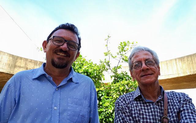 Espetáculo foi criado e é protagonizado por Eugênio Jerônimo e Zelito Nunes. Foto: Humor na Feira/Divulgação