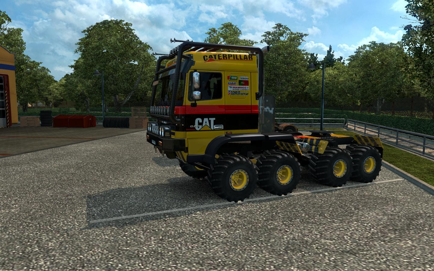 Daf Crawler For  24 Truck Euro Truck Simulator 2 Mods
