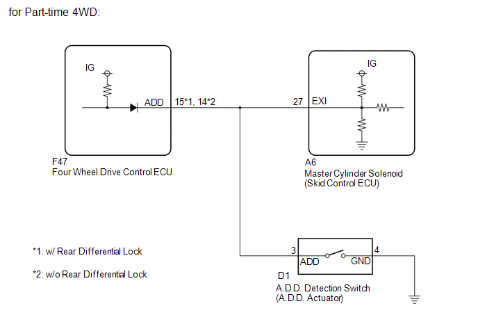 Position Switch Wiring Diagram