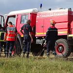 Aubigny-la-Ronce | Intervention délicate des pompiers sur un feu de végétation à Aubigny-la-Ronce