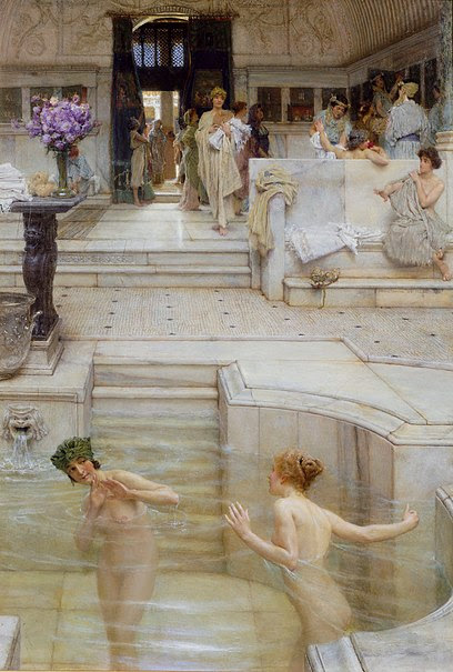 File:Alma-Tadema A Favourite Custom 1909 Tate Britain.jpg